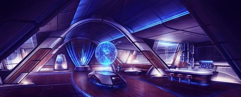 Spaceship healing chamber